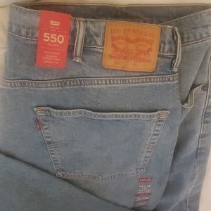 Levi 550 relaxed fit Stretch Comfort jeans 44x29